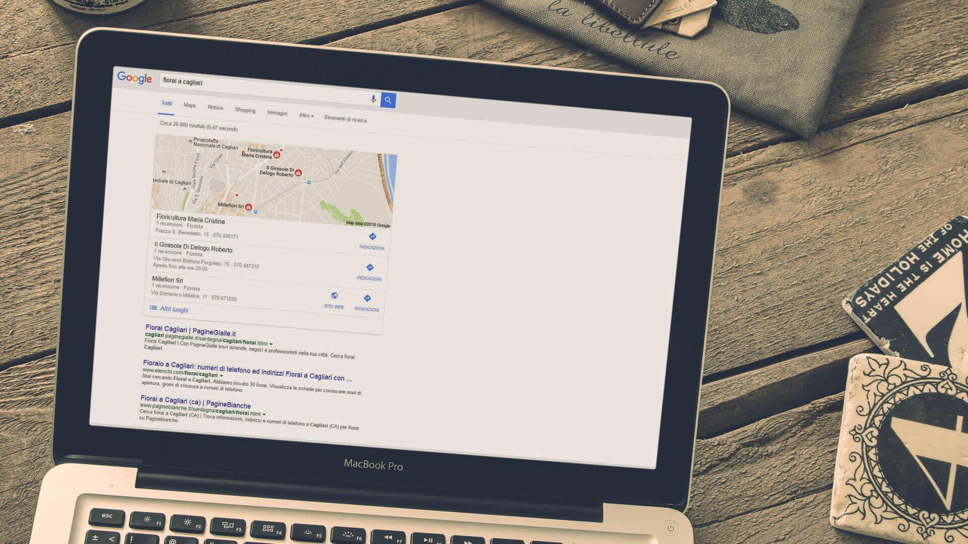 SEO ottimizzazione indicizzazione siti a Nuoro, Sardegna