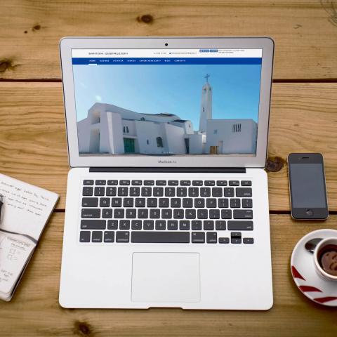 Anteprima sito Santoni Costruzioni responsive e dinamico