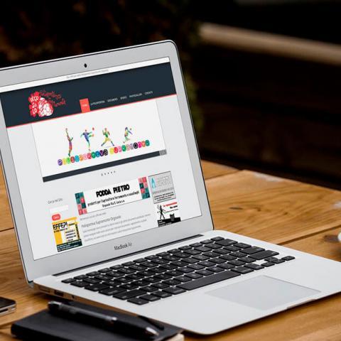 Sito Polisportiva Supramonte Orgosolo, anteprima su Notebook MacBook