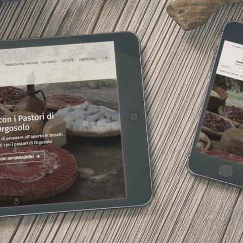 Anteprima sito Supramonte.com responsive, tablet e smartphone