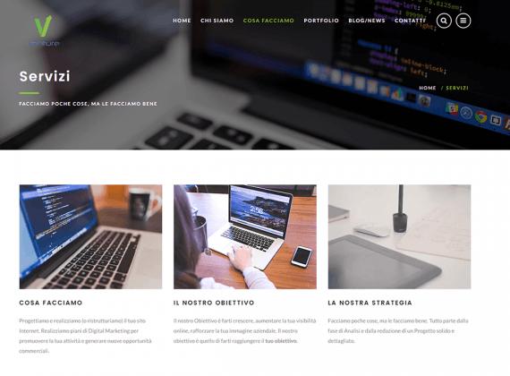 E' online il nuovo sito Venture Web Agency