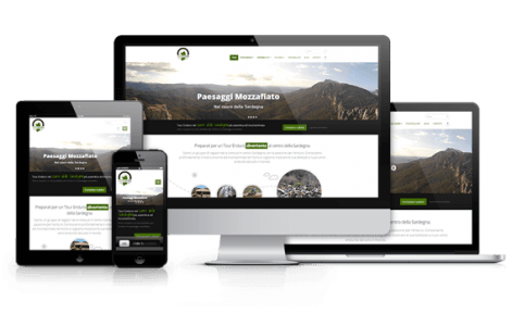 Creazione siti web responsive per mobile smartphone e tablet in Sardegna